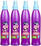 Suave Kids Soft & Smooth Detangler, Twirlin' Swirlberry, 8.5 oz, 4 pk