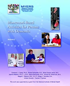 Montessori Based Activities for Persons, Vol.II from Menorah Park Center for Senior Living