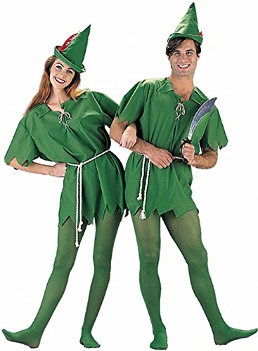 Peter Pan Adult Costume (X-Large 40-42) (Peter Pan Tunic compare prices)