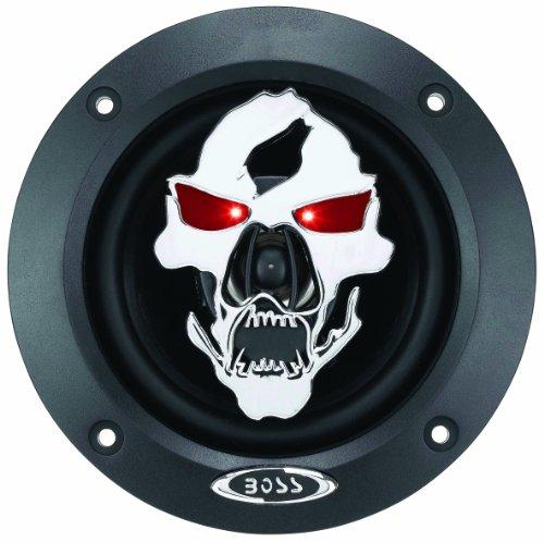 "Boss Audio Sk422 Phantom Skull 250-Watt 2 Way Auto 4"" Coaxial Speaker"