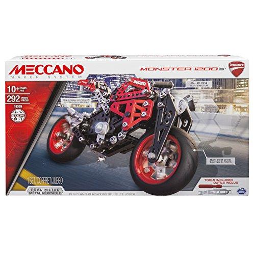 Meccano 6027038 - Elite Motorcycle Ducati, Multicolore