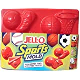 Jell-O Jigglers Sports Mold with Soccer Football Basketball Baseball