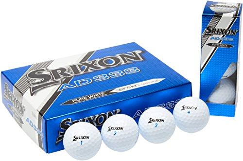Srixon-Mens-AD333-Golf-Ball-White