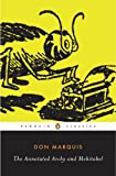 The Annotated Archy and Mehitabel (Penguin Classics)