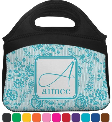 Lace Lunch Tote (Personalized) front-812556