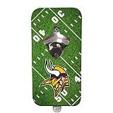 NFL Clink-N-Drink Magnetic Bottle Opener - Minnesota Vikings