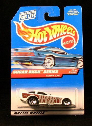FUNNY CAR * SUGAR RUSH SERIES #2 of 4 * HOT WHEELS 1998 Basic Car Series * Collector #742 * - 1