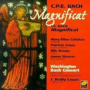 Bach: Magnificats  Washingto Bach Consort