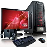 VIBOX Sniper Package 6 - Extreme, Performance, Gaming PC, Multimedia, High Spec, Desktop PC, USB3.0 Computer, Full Package with 23