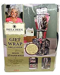 Paula Deen 20201 Jokari Everyday Hanging Gift Wrap Roll Organizer