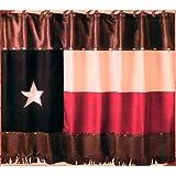 Western Texas Flag Shower Curtain