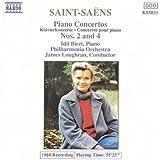 Saint-Saens : Concertos pour piano Nos 2 & 4