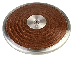 Champion Sport Competition Wood Discus, 1.0 kg