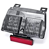 Krator   1994 2004 Ducati 748 916 996 LED TailLights Brake Tail Lights with Integrated Turn Signals Indicators Smoke Motorcycle