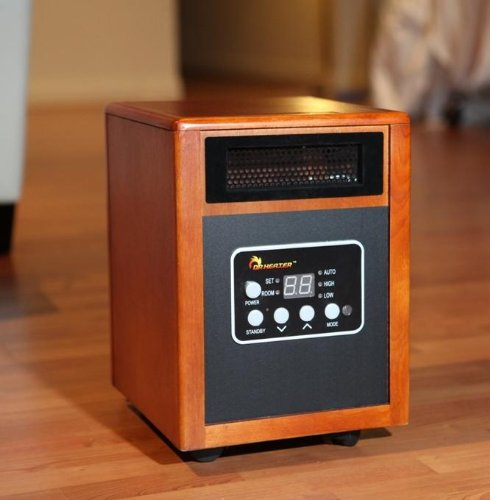 Heater corner dr heater portable quartz ptc infrared for Room heating systems