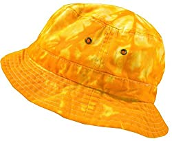 Colortone Bucket Hats Youth Spider Gold