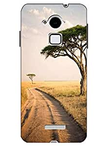 Snazzy Nature Printed Multicolor Hard Back Cover For CoolPad Note 3