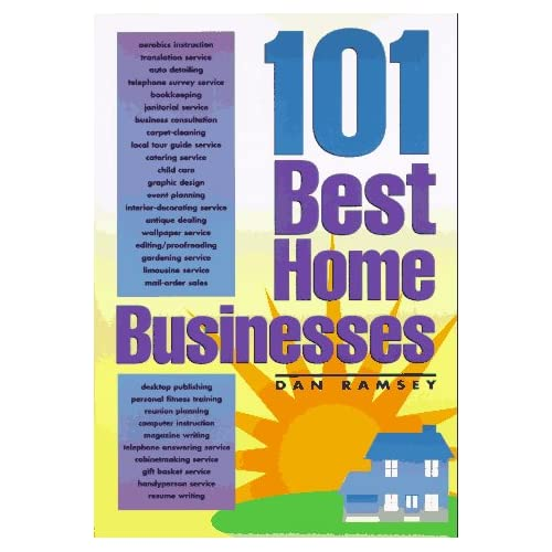 101 Best Home Businesses-Mantesh