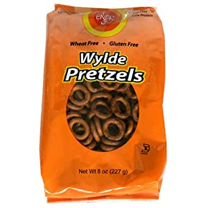 Ener-G Foods Wylde Pretzels, 8-Ounce Bags (Pack of 12)