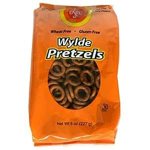 Ener-G Foods Wylde Pretzels, 8-Ounce Bags (Pack of 12)