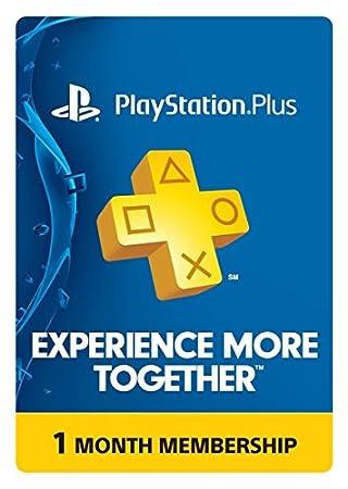 PlayStation Plus 1 Month Membership - PS3 / PS4 / PS Vita [Digital Code]
