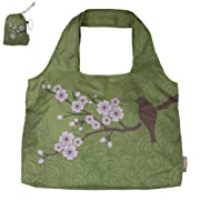 ChicoBag Blossom Collection Reusable Shopping Tote/Grocery Bag (Cherry Blossom)