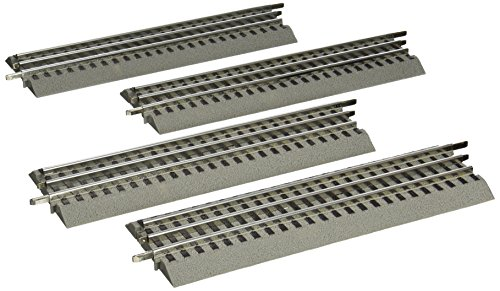 Lionel FasTrack - O-Gauge Straight Track - 4 Pack (Lionel Model Trains compare prices)