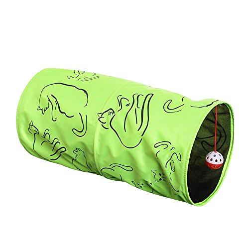 eizur-cat-tunnel-faltbar-pet-katzentunnel-spieltunnel-pet-supplies-drei-schichten-neongrun-katzenspi