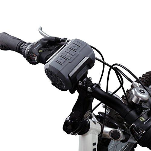 VENSTAR Bluetoothスピーカー ワイヤレススピーカー 防水防塵 耐衝撃 自転車用 コンパクト スポーツ 内蔵マイク