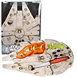 """Star Wars Millennium Falcon Acrylic Chopping Board (15"""" x 11"""") - Take Your Cutting Into Hyperspace"""