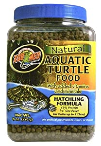 Zoo Med Natural Aquatic Turtle Food - Hatchling Formula 44g by Zoo Med