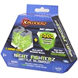 Night Fighterz Battle Blowout ammo refill pack - 1000 rounds and 2 ammo clips