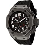 Swiss Legend Mens 10541-GM-01 Trimix Diver Collection Chronograph Black Rubber Watch
