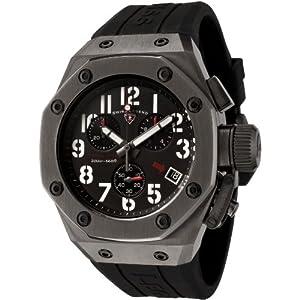 Swiss Legend Men's 10541-GM-01 Trimix Diver Collection Chronograph Black Rubber Watch