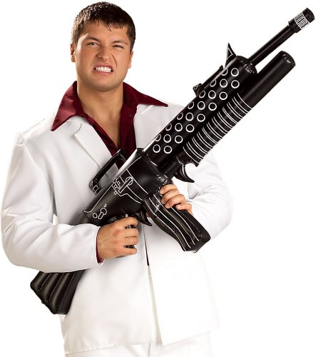 Scarface Inflatable Weapon Costume