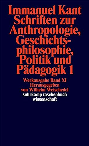suhrkamp-taschenbuch-wissenschaft-nr-192-immanuel-kant-werkausgabe-xi-schriften-zur-anthropologie-ge