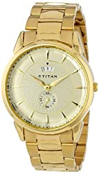Titan Regalia Analog White Dial Mens Watch - NE1521YM02