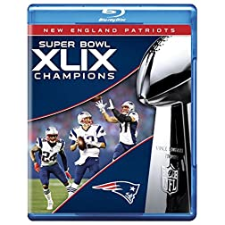 NFL Super Bowl Champions XLIX: New England Patriots [Blu-ray]