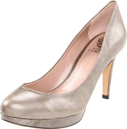 Vince Camuto Women's Zella Pump,Metal Taupe,9 M US
