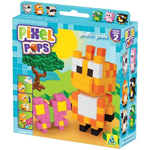 The Orb Factory Pixel Pops Giraffe Building Kit - 1