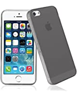 Coque iPhone 5S/iPhone 5,Bingsale Coque Apple Iphone 5S 5 Etui Silicone Gel Housse (iPhone 5s/iphone 5, gris)