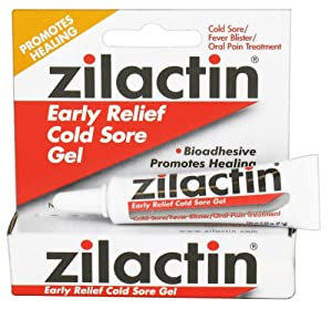 Zilactin - Early Relief Cold Sore Gel - 0.25 oz. from Zilactin