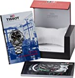 Tissot Women's T0112171703100 T-Race Chronograph Quartz Silver Dial Watch
