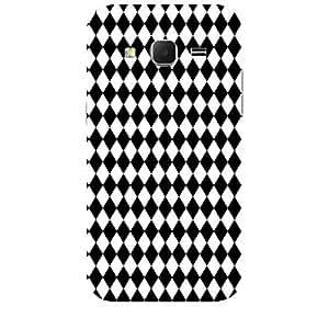 Skin4gadgets BLACK & WHITE PATTERN 21 Phone Skin for SAMSUNG GALAXY CORE PRIME ( G3608)
