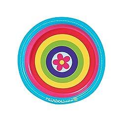 Rainbow Wishes Party Supplies - Dessert Plates (8)