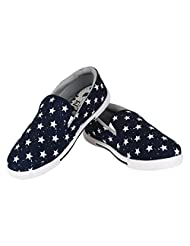 Earton Footwear Blue-302 Loafer Shoes