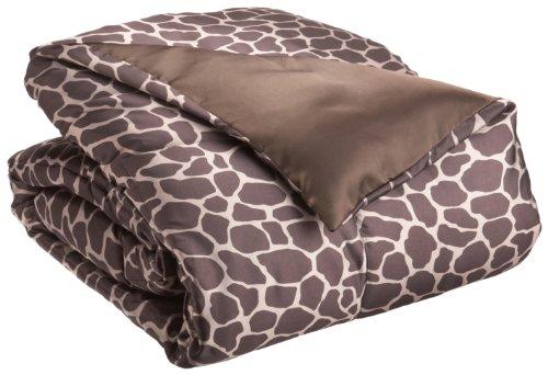 Giraffe Print Comforter Set front-1057104