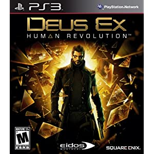 Deus Ex: Human Revolution Standard Edition Video Game for PS3