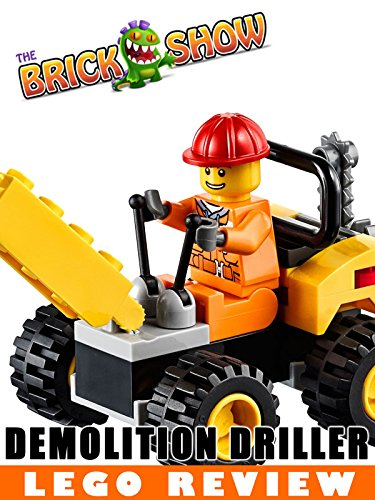 LEGO City Demolition Driller Polybag Review LEGO 30312