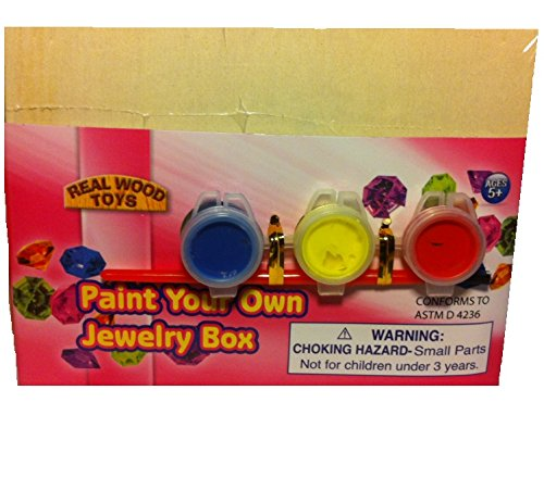 Paint Your Own Jewlery Box - 1